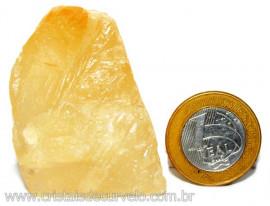 Calcita Mel Pedra Natural P/ Coleção e Esoterismo Cod 110308