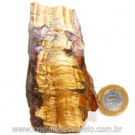 Olho de Tigre Pedra Extra Bruto Natural da África Cod 121226