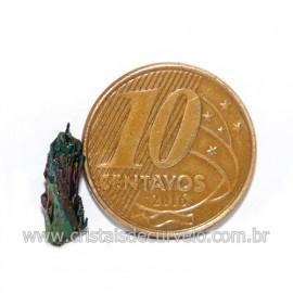 Sílicio Arco-Íris Natural no Estojo Para Colecionar Cod 123359
