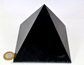 Pirâmide GRANDE Obsidiana Negra Natural Queops cod PG4131