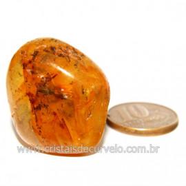 Hematoide Amarelo com Inclusão Dendrita Pedra Natural Cod 126197