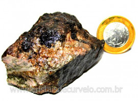 RODONITA ou Manganolita Pedra de Garimpo No Peru Cod RP3115