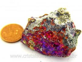 Bornita ou Pedra Pavão Mineral Para Esoterismo Cod BB8543