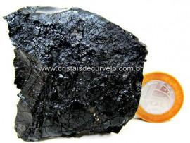 Azeviche Bruto Pedra Organica Para Esoterismo Ambar Negro Linhito Cod 263.6