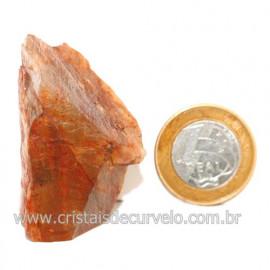 Aragonita Vermelho Pedra Bruto Mineral Natural Cod 123316