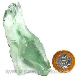 Obsidiana Verde Pedra Vulcanica Ideal P/ Coleçao Cod 119713