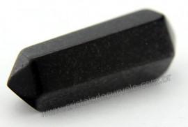 Bi Terminado Quartzo Preto Pedra Extra Lapidado Tamanho Mini 2.5  Cm