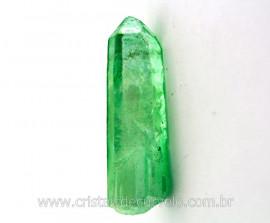Ponta Crystal Aura Apple ou Maça Verde Pedra Bruta Cod AA1906