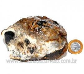 Agata Com Dendrita Pedra Calcedonia Natural de Coleção Cod 123720
