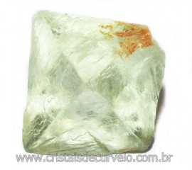 Fluorita Cubica da Mongólia Pedra Natural Pra Coleção 115922