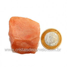 Aragonita Vermelho Pedra Bruto Mineral Natural Cod 123318