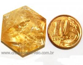 Estrela De Davi Ou Selo de Salomão Citrino Bombardeado 5 a 20 Gr Reff 110776