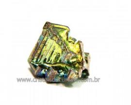 Bismuto Mineral ou Bismuth Stone Pedra Natural Cod BB9226