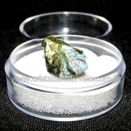 Labradorita Canadense Mineral Natural No Estojo Cod 114212