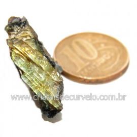 Labradorita Canadense Mineral Natural No Estojo Cod 123837