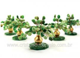 04 Arvore Felicidade Pedra Quartzo Verde Atacado REFF AJ3256