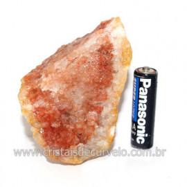 Hematoide Vermelho Natural Quartzo Cristalizado Cod 121497