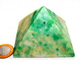 Piramide Jadeita Baseada Queops Pedra Comum Lapidado Manual Cod PJ391.2