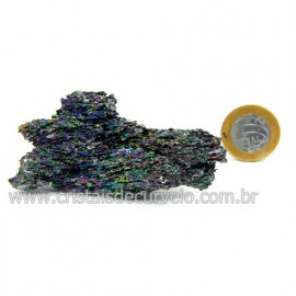 Sílicio Arco-Íris Pedra Natural Redutora de Radiação Cod 123332