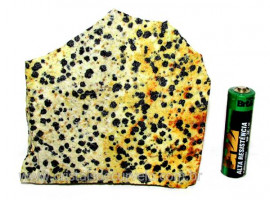 Jaspe Dalmata Pedra Natural Mineral de Esoterismo Cod JD1895