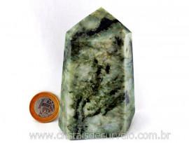 Ponta Esmeralda Incrustado no Xisto Pedra Lapidado Mineral Natural Cod 361.7