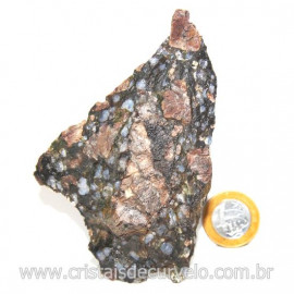 Riolita Rosa Rocha Vulcânica Pedra de Garimpo Bruto Cod 128049