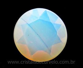 Gema Brilhante PEDRA DA LUA OPALINA Para Montagem de Joias REFF GT2622