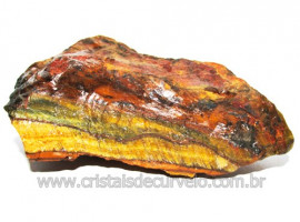 Olho de Tigre Pedra Extra Bruto Natural da África Cod 111116