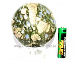 Esfera Riolita Natural Mineral Lava Vulcanica Cod ER7894