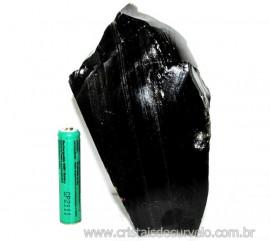 Obsidiana Negra Mineral Vulcânico Pedra Natural Cod 110140