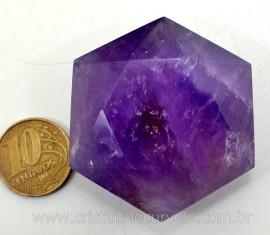 Estrela De Davi Ou Selo de Salomao Pedra Ametista Natural 50 a 100 G