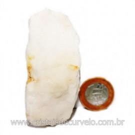 Selenita Laranja Pedra Natural Para Esoterismo Cod 123999