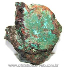 Malaquita Especial Matriz Mineral Pequeno Natural Cod 115418