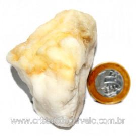 Selenita Laranja Pedra Natural Para Esoterismo Cod 123994