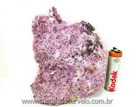 Lepidolita Mica Mineral Para Colecionador Pedra Natural de Garimpo Cod 442.3