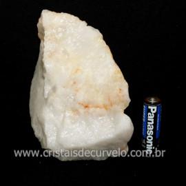 Quartzo Leitoso ou Branco Pedra Bruto Natural Cod 118657