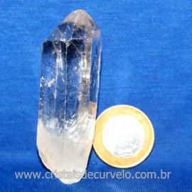 Lemuria Pequeno Quartzo Comum Cristal Lemuriano Natural Cod 119471
