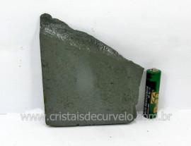 Ardosia Bruto Pedra Pra Colecionador ou Estudante de Minerais Geologia Cod 174.5