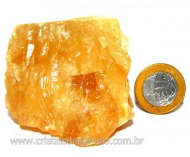 Calcita Mel Pedra Natural P/ Coleção e Esoterismo Cod 110323