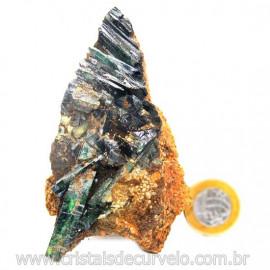 Vivianita Extra Pedra Matriz Siderita Bruta Natural Cod 127863