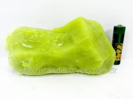 Calcedonia Verde Pedra Natural Bruto de Garimpo Para Colecionador Cod 397.6