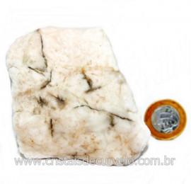 Selenita Laranja Pedra Natural Para Esoterismo Cod 123998