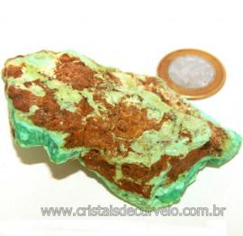Crisoprasio Bruto Especial Pedra da Esperança Cod 109628
