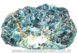 Apatita Azul Pedra na Matriz Bruta Pra Esoterismo Cod 115131