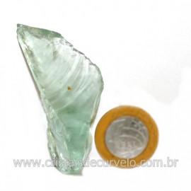 Obsidiana Verde Pedra Vulcanica Ideal P/ Coleçao Cod 126411