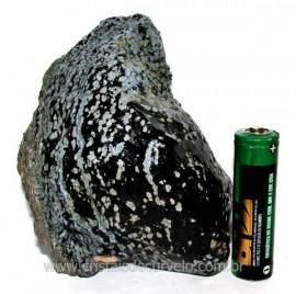 Obsidiana Flocos de Neve Pedra Vulcânica Natural Cod 104420