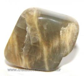 Pedra da Lua Rarissima Rolada Natural de Garimpo Cod 108995