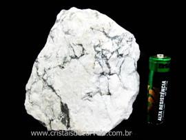 Howlita Pedra Natural De Garimpo Em Bruto Para Colecionador e Esoterismo Cod 397.4