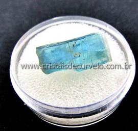 Cianita Azul Canudo Extra Natural No Estojo Para Colecionador Cod CA32.9