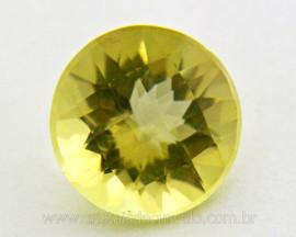 Gema Green Gold Brilhante Natural Montagem Joias Cod GG7594